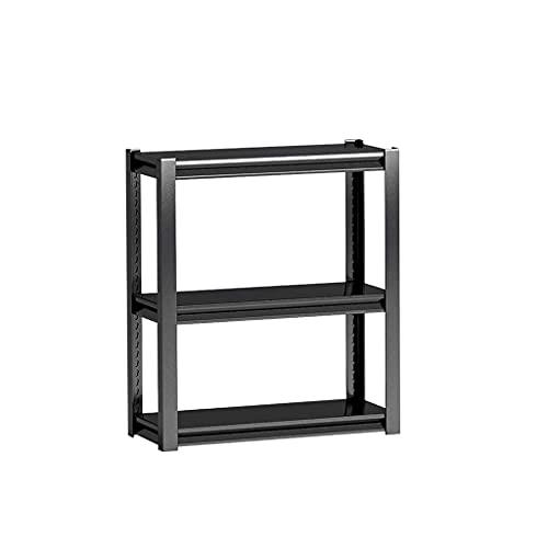 Altura ajustable de 3 capas Horno de microondas Estante de estante Horno de cocina Rack de gabinete de cocina Rack de almacenamiento, negro de carbón (Límite de una sola capa Peso 110 libras)