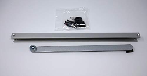 GEZE Gleitschiene BG ohne Feststellung für TS 3000/5000 L, 1 Stück, silber, 4106030256557