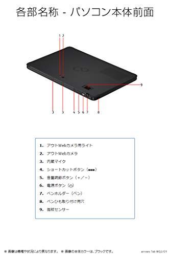 FUJITSU(富士通)『arrowsTabWQ2/D1』