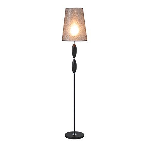 Staande lamp zwart metaal woonkamer verticale staande lamp, slaapkamer Nordic wind bed bedlamp modern eenvoudig LED