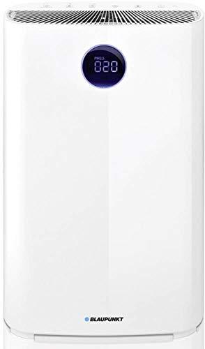 BLAUPUNKT UVirus Killer - Purificador de aire (310 m3/h, filtro HEPA H13, lámpara UV-C, para habitaciones de hasta 48 m2, eliminación de polvo, virus, bacterias, color blanco)