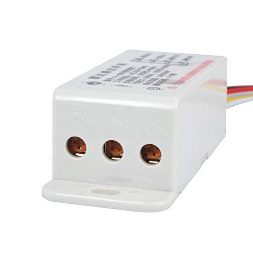 Sensor AC220V Interruptor de microondas de radar interruptor del sensor de interruptor de control de cuerpo ligero retardo distancia es ajustable Componentes activos Sensores Para el hogar, reactores,