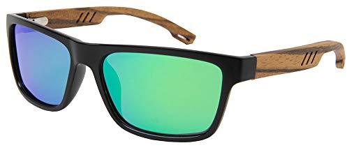 Ocean Caiman Black Revo Green - Negro