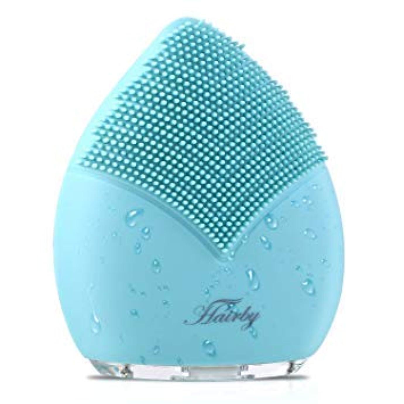 採用する洗練創造[Hairby] [Hairby フェイシャルクレンジングブラシ Facial Cleansing Brush, Silicone Face Brush Sonic Electric Face Cleanser, Ions Massager ] (並行輸入品)