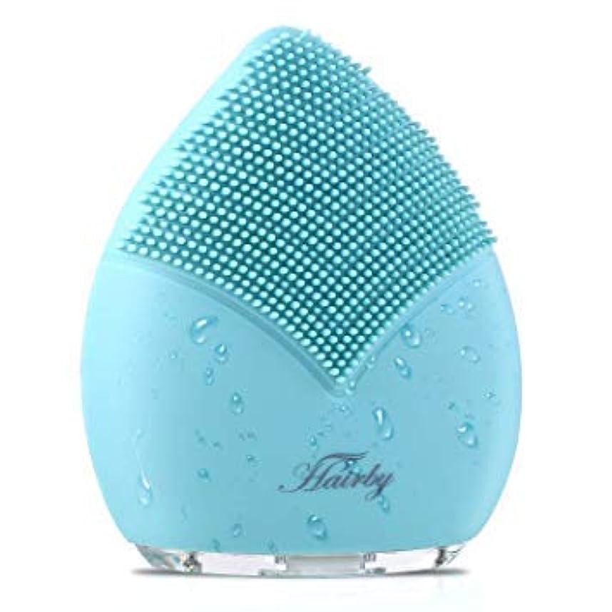 変形ハイキングソビエト[Hairby] [Hairby フェイシャルクレンジングブラシ Facial Cleansing Brush, Silicone Face Brush Sonic Electric Face Cleanser, Ions Massager ] (並行輸入品)