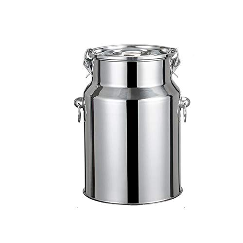 Buy Discount 201 stainless steel food sealed container, Kitchen rice barrel fermented wine barrel wi...