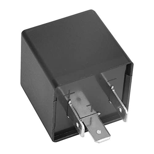 Uxsiya Relé Intermitente LED de 3 Pines de tamaño Mini, 12 V,...