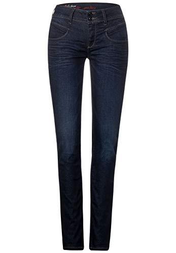 Street One Damen A373465 Jeans, Blue Soft Wash (Blau), 27W 30L EU