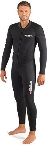 Cressi Endurance Man All-in-One Traje monopieza sin Capucha en Neopreno de 5mm, Hombre, Negro, M/3
