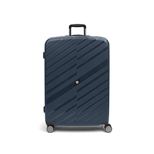 Gabol - Sendai   Large Hard Travel Suitcases 54 x 78 x 30 cm with Capacity 98 L Blue