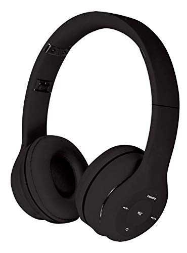 Freestyle koptelefoon, draadloos, Bluetooth V3.0 FH0915, zwart, geïntegreerde microfoon