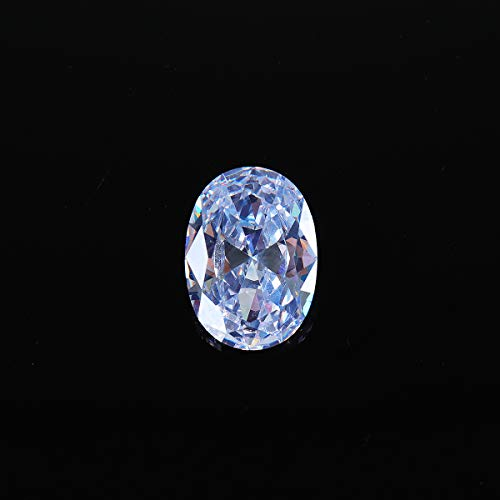 CCChaRLes 18 * 25Mm Zircone Bianco Zaffiro Diamante Ovale Taglio Sfuso Pietre Preziose Decorazioni Artigianali Aaa