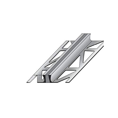 Dehnungsfugenprofil / Dehnungsprofile / Fliesenprofil für Fliesenübergänge, Aluminium, Höhe: 10 mm