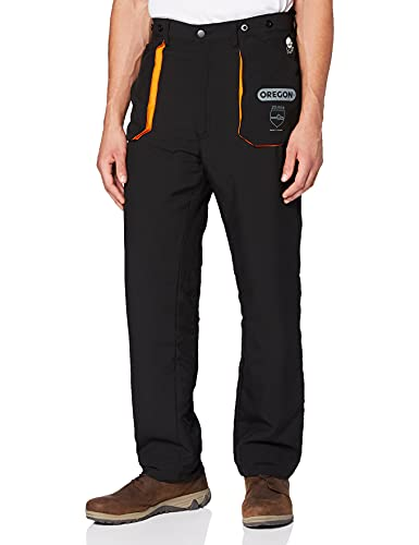 OREGON Yukon Chainsaw Protective Trousers, Protection Type A Class 1, Size Large (EU 50-52)...