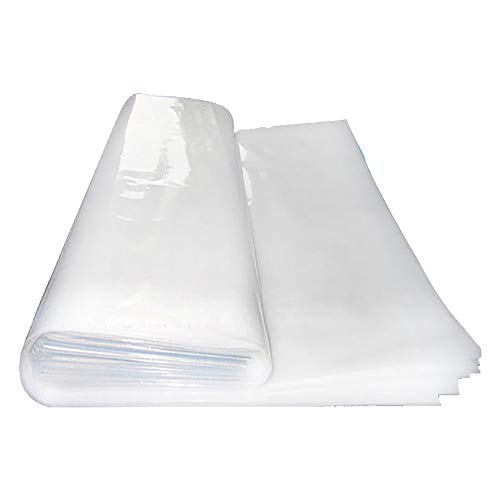 GRELWT Greenhouse Film 6 mil Thickness, Covering Plastic, UV Resistant (24 ft x 100 ft)