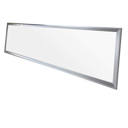 ECD Germany 1-er Pack LED Panel Deckenleuchte 42W - 120 x 30 cm - Ultraslim Dünn - SMD 3014 - Neutralweiß 4000K - 220-240 V - ca. 2831 Lumen - Deckenlampe Einbauleuchte Pendelleuchte Lampe Leuchte