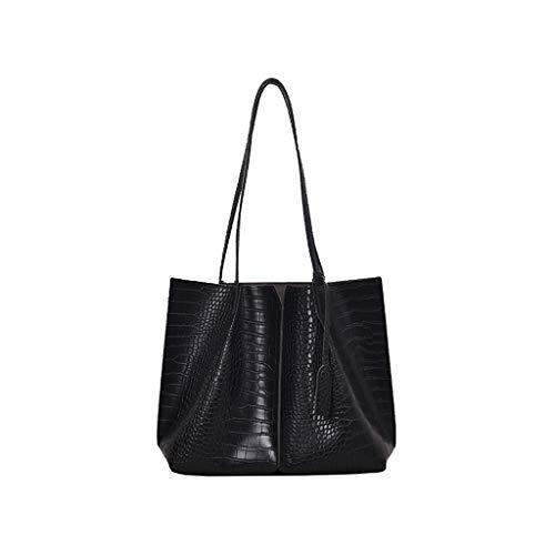 New Fashion Women Crocodile Grain Handtasche Wild Coin Purse Messenger Bag