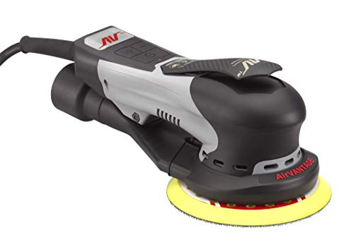 AirVANTAGE 5' Palm-Style, 2nd Generation Industrial Advanced Electric Sander Central-Vacuum with Low-Profile Pad (3/32- Hook & Loop)