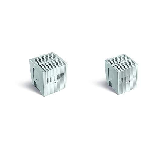 Venta Luftwäscher Original LW25 Luftbefeuchtung und Luftreinigung (bis 10 µm Partikel) für Räume bis 40 qm, Weiß-Grau & Luftwäscher Original LW15, Luftbefeuchter für Räume bis 25 qm, Weiß-Grau
