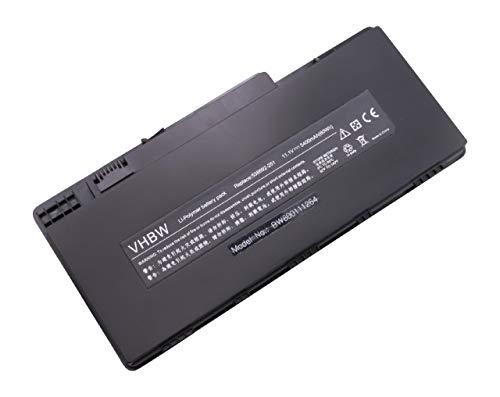 vhbw Li-Polymer Batterie 5400mAh (11.1V) pour Notebook HP Pavilion dm3-1040ez, dm3-1040us, dm3-1044nr, dm3-1047cl, dm3-1047nr comme HSTNN-OB0L.
