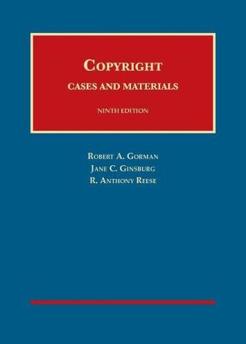 Copyright (University Casebook Series)