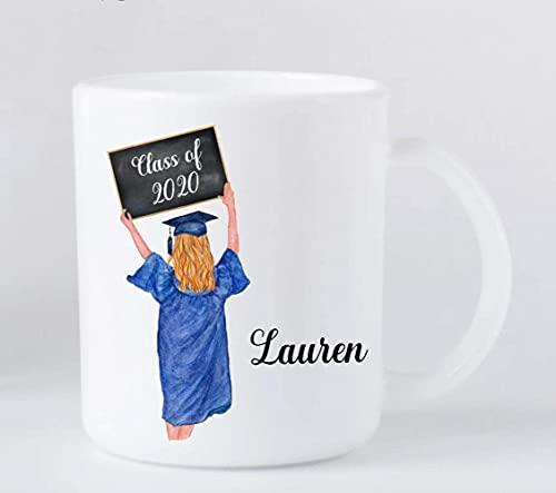 Taza de café - Graduación para niñas - Regalo de graduación personalizado 9UFVC3