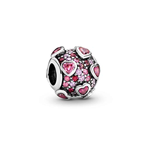 Pandora Damen -Bead Charms 925 Sterlingsilber zirkonia 796555CZSMX