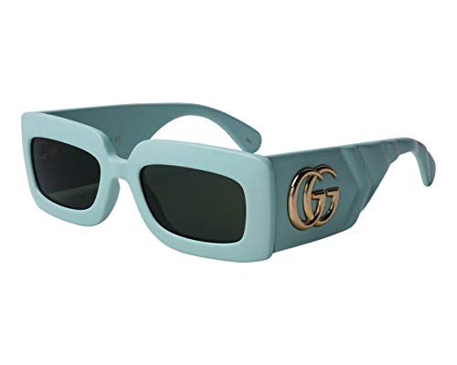 Gucci Gafas de Sol GG0811S Green/Green 53/21/145 mujer