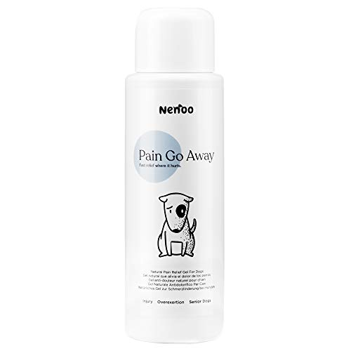 Nenoo Pain Relief Gel for Dogs Remedy for Inflammatory Conditions and joint ache. Devil's Claw and Arnica Montana. 250 millilitres