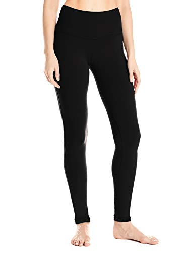 "Yogipace Tall Women's 31"" Long Inseam High Waisted Barre Leggings Extra Long Yoga Leggings Workout Active Pants Black Size M"