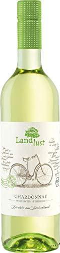 Landlust Chardonnay BIO und VEGAN QbA feinherb, 1 x 0.75 L
