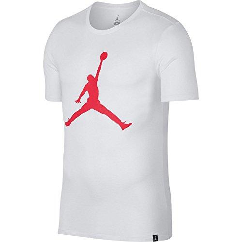 Nike Air Jordan Iconic Jumpman Logo Red T shirt 908017 687