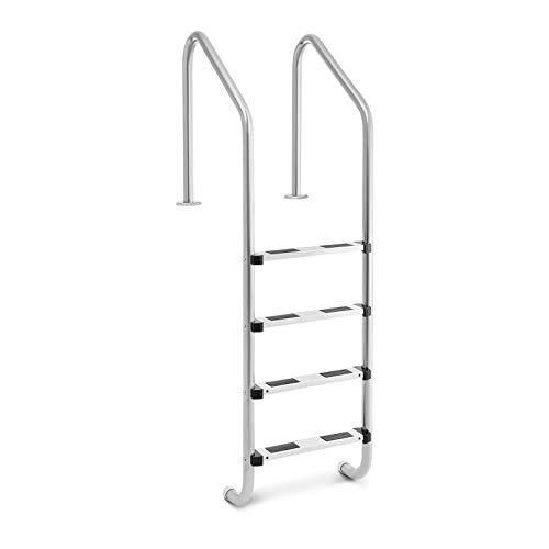 Uni_Pool_Ladder_1820 Poolleiter Edelstahl