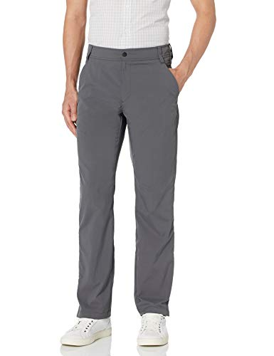 Amazon Essentials Regular-fit Hybrid Tech Pants, anthrazit, 38W x 34L
