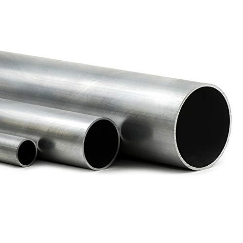 Aluminium Rundrohr AlMgSi05 Ø 38x1,5mm - Länge 100mm / 10cm auf Zuschnitt