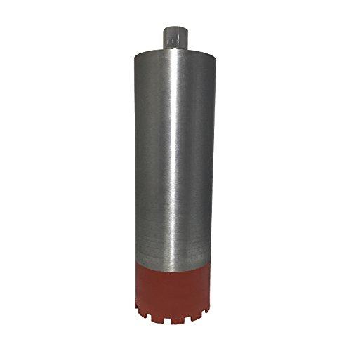 Diamantbohrkrone Ø 62 mm 10 mm Turbosegment Diamant-Bohrkrone 400 mm Nutzlänge