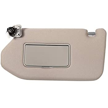 Ezzy Auto Tan Left Driver Side Sun Visor fit for Nissan Pathfinder Infiniti QX60 JX35 with Sunroof 96401-9PB0A