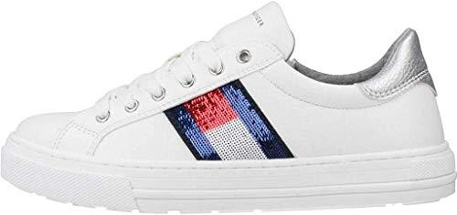 Tommy Hilfiger Kinder Sneaker Weiss (10) 35