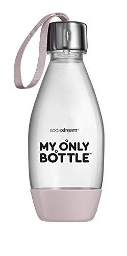 My Only Bottle Roze - 0,5 Liter - Duurzame on-the-go fles - Drinkfles  Voor Bruisend en Plat Water - UV-bestendig - BPA-vrij  - Perfect voor Onderweg Dankzij het Draagkoordje