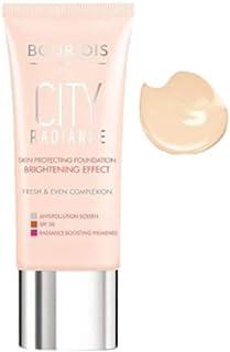 Bourjois City Radiance Foundation - 30 ml, 01 Rose Ivory
