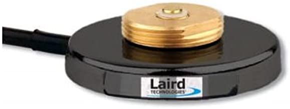 Laird Technologies - Mini-Magnetic Mount Base with 12' RG-58A/U, SMA Male Included but not Attached (GMB8SM)