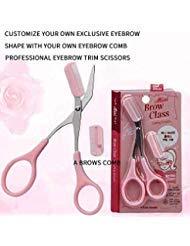 MEET Eyebrow Shaping Knife Universal Eyebrow Trimmer/Comb Eyelash Hair Scissors Cutter Shaper Beauty Tool is a product of MEET.