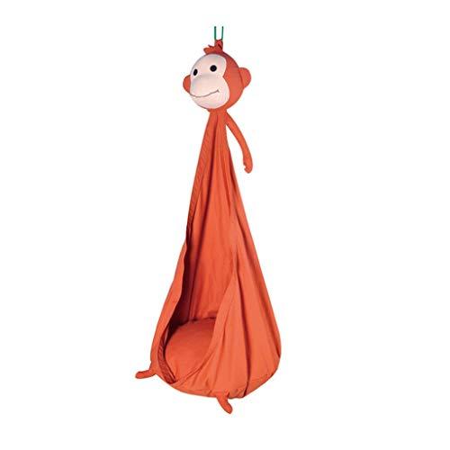zxb-shop Asientos Columpios Forma de los Animales del Columpio al Aire Libre Balcón Colgando Cesta de algodón Hamaca Adulto Silla Colgante Juego de Interior Juego Ocio Columpio de Patio de recreo