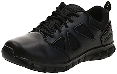 Reebok Men's Sublite Cushion Tactical RB8105 Military & Tactical Boot, Black, 12 W US
