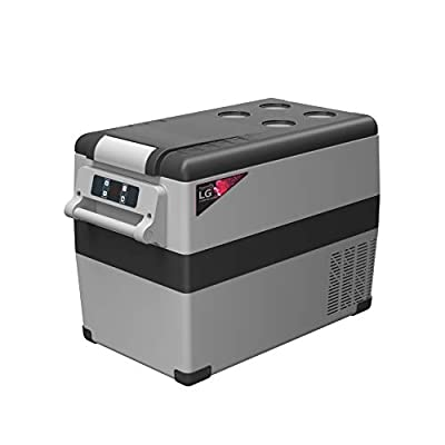 Alpicool LGCF45 Portable Refrigerator 12 Volt Car Freezer 48 Quart Mini Fridge Freezer (-4?~68?) for Truck, RV, Vehicle, Travel, Outdoor, Home -12/24V DC and 110-240V AC