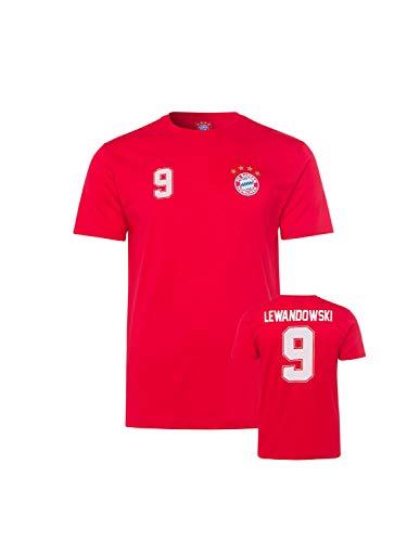 FC Bayern München T-Shirt Lewandowski Kids rot, 128