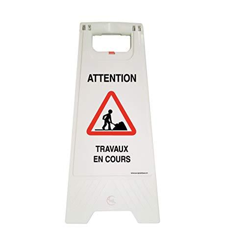 Aua Signaletique - Caballete de señalización, trabajo en...