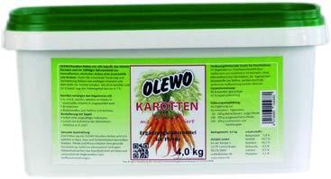 Olewo Karotten-Pellets m. Öl 4 kg