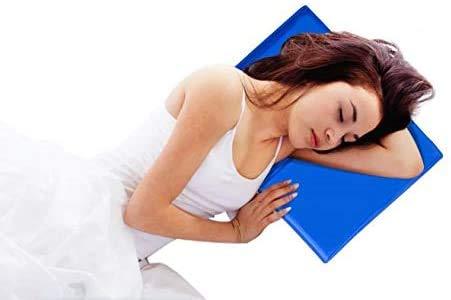 Guilty Gadgets Tragbares kühlendes Gelkissen, natürlicher Komfort, Schlafhilfe, 40 x 30 cm