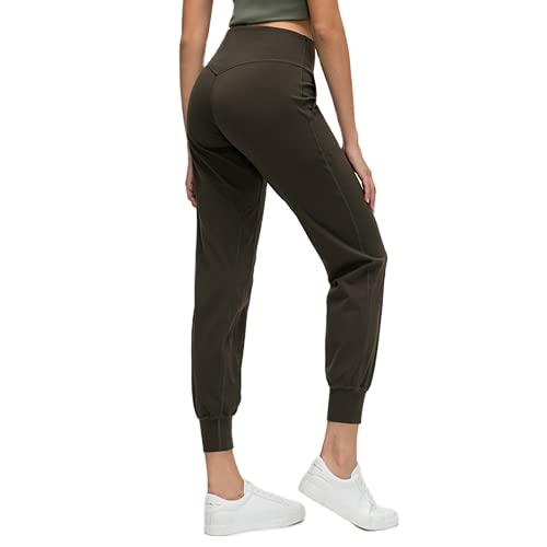 QTJY El Camuflaje se Divierte los Pantalones de la Yoga, Polainas Casuales de Las Flexiones de la Aptitud del Gimnasio de Las señoras, Pantalones para Correr al Aire Libre FM